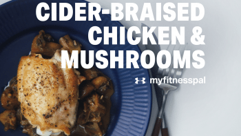 Cider-Braised Chicken & Mushrooms