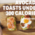 Avocado Toasts Under 300 Calories
