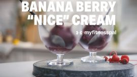 "Banana Berry ""Nice"" Cream"