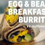 Egg & Bean Breakfast Burrito