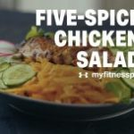 Five-Spice Chicken Salad