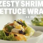 Zesty Shrimp Lettuce Wrap