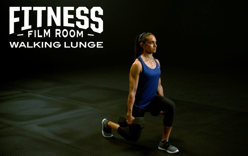 How to Do the Walking Lunge
