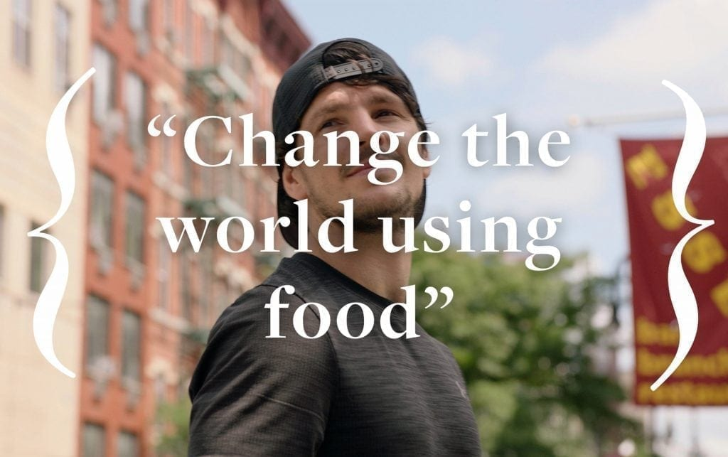 Change the World Using Food