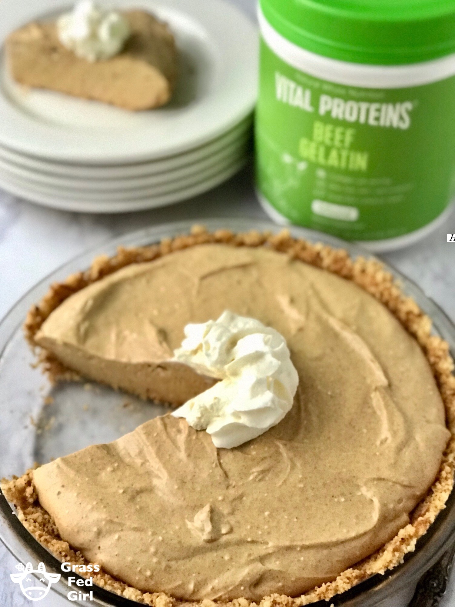 No Bake Keto Pumpkin Cheesecake