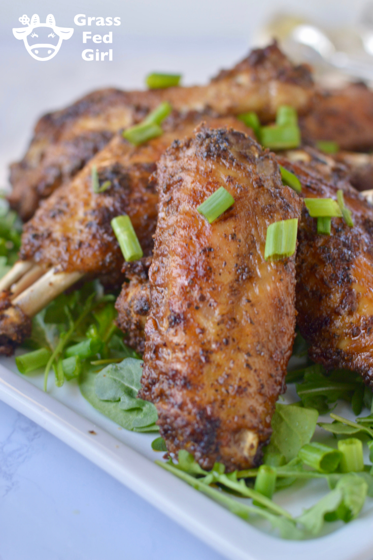 Best Keto Spicy Turkey Wings Recipe
