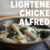 Lightened Chicken Alfredo