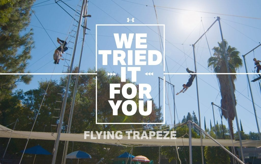 We Tried it For You: Flying Trapeze