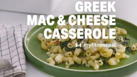 Greek Mac & Cheese Casserole