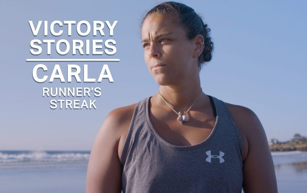 Carla's 3-Year Running Streak Started as a Personal Goal and Became Much More
