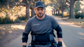 Adam's Paralysis Can't Keep Him From His Goal of Walking 1 Million Steps