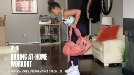 Boxing-Inspired Home Workout with Monica Jones