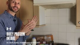Daily Protein Intake with Dr. Marc Bubbs